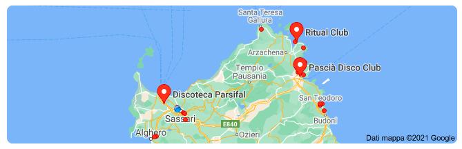 discoteche nord Sardegna